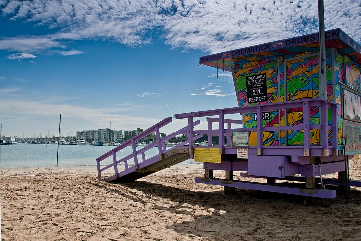 Marina Beach Beaches Harbors