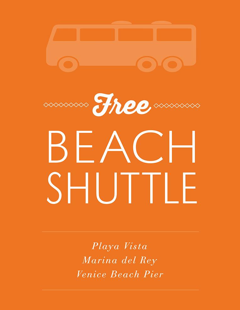 Free Beach Shuttle