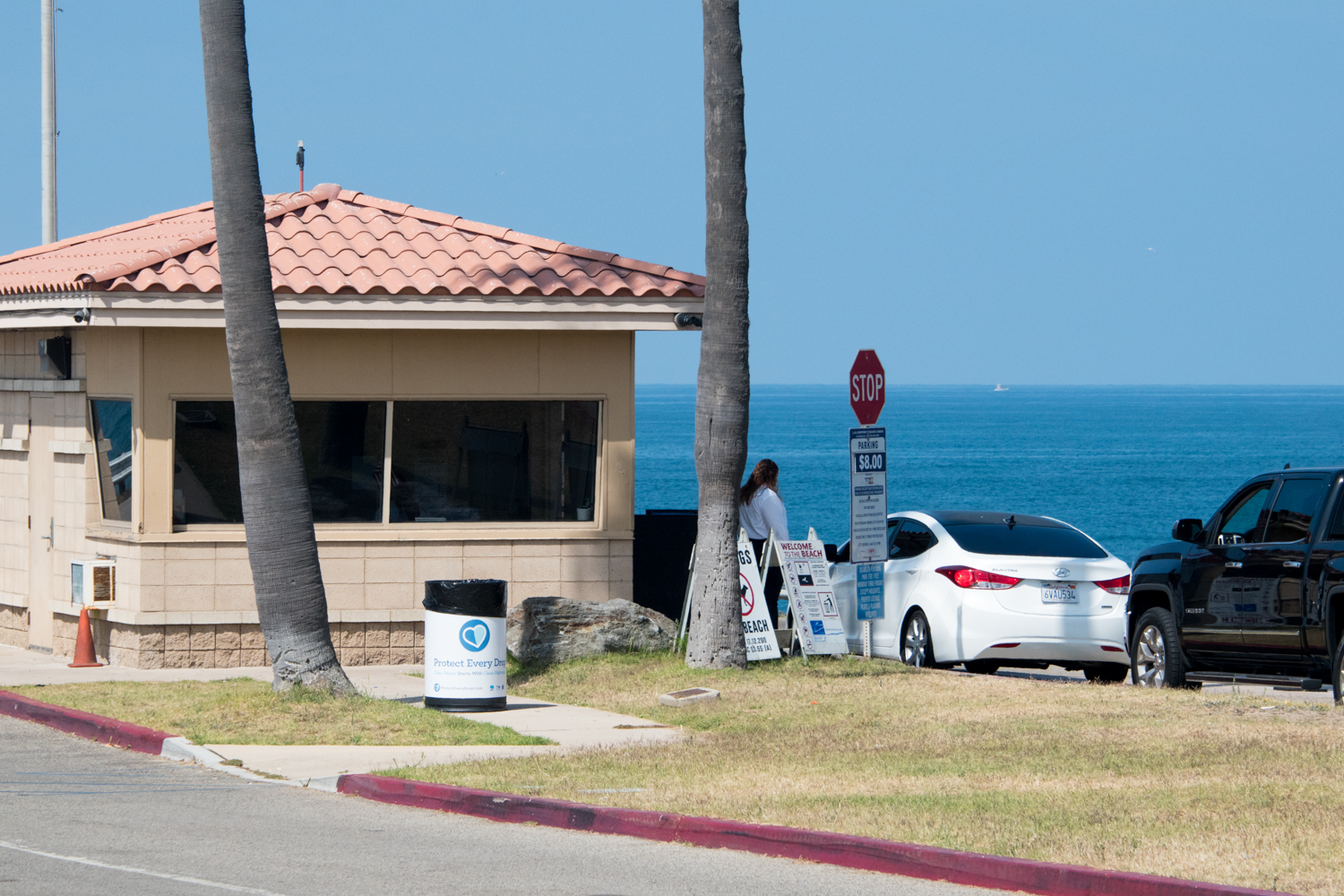 Entrance to Dockweiler State Beach