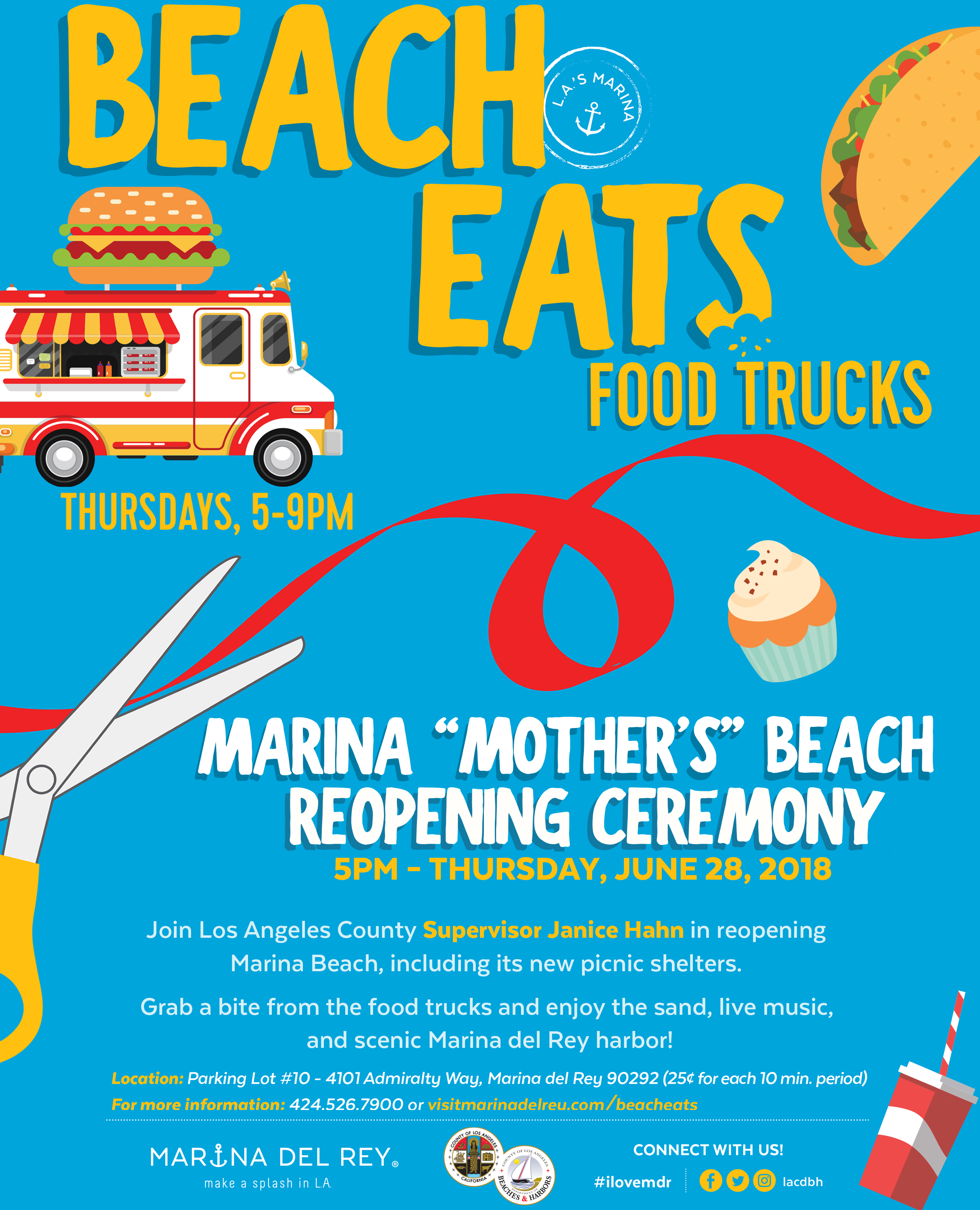 "Marina ""Mother's"" Beach Reopening Ceremony"