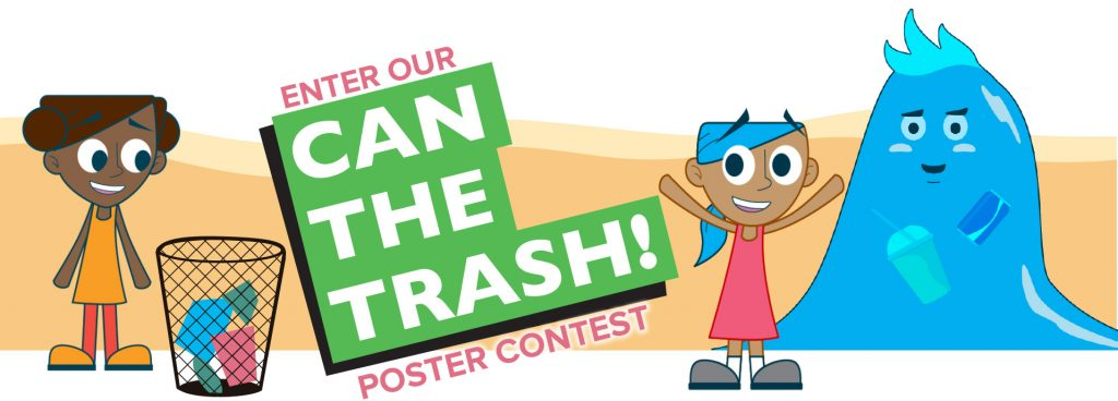 Can the Trash Clean Beach poster contest