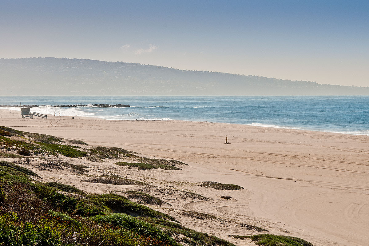 Los Angeles County Dockweiler State Beach