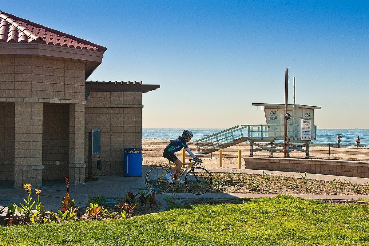 Dockweiler Beach History