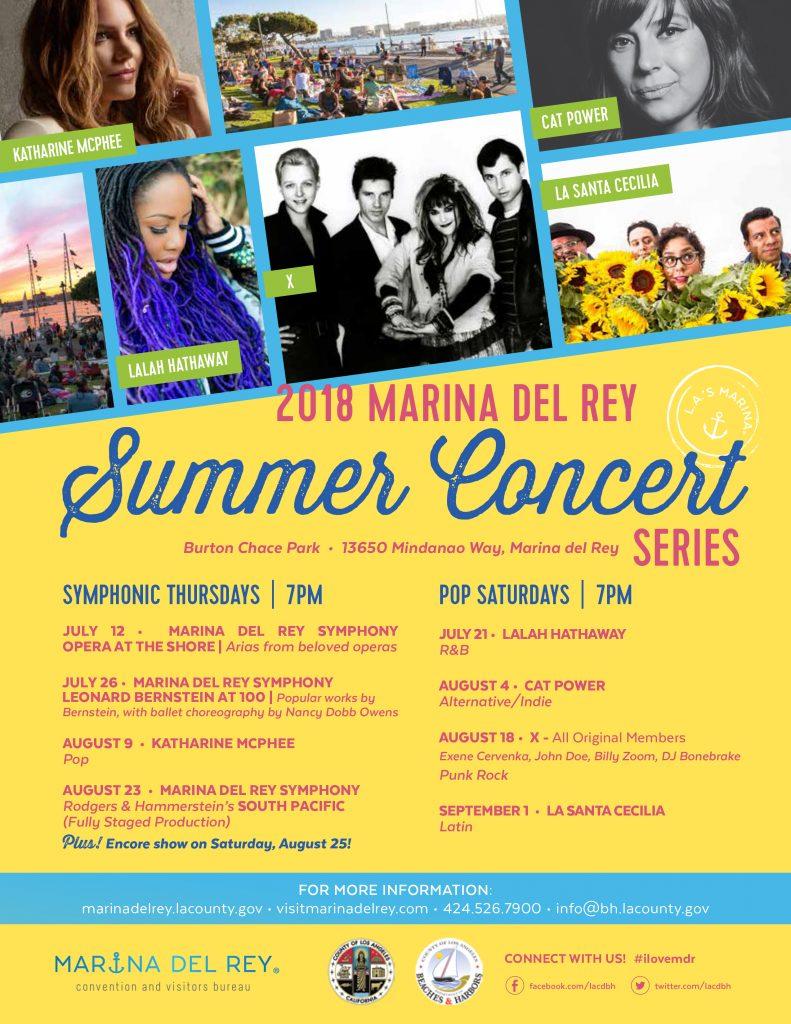 2018 MDR Summer Concerts