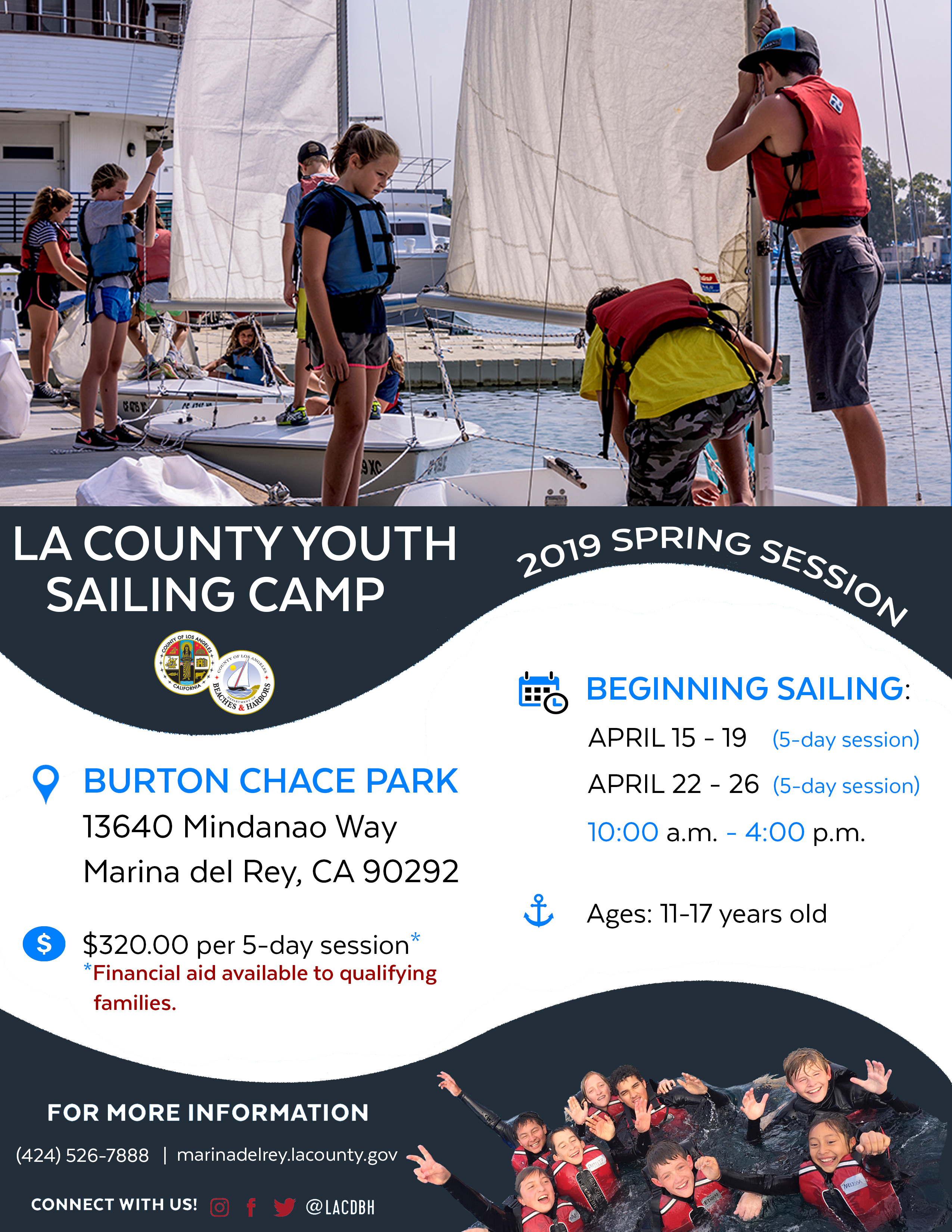 2019 Spring Youth Sailing Camp