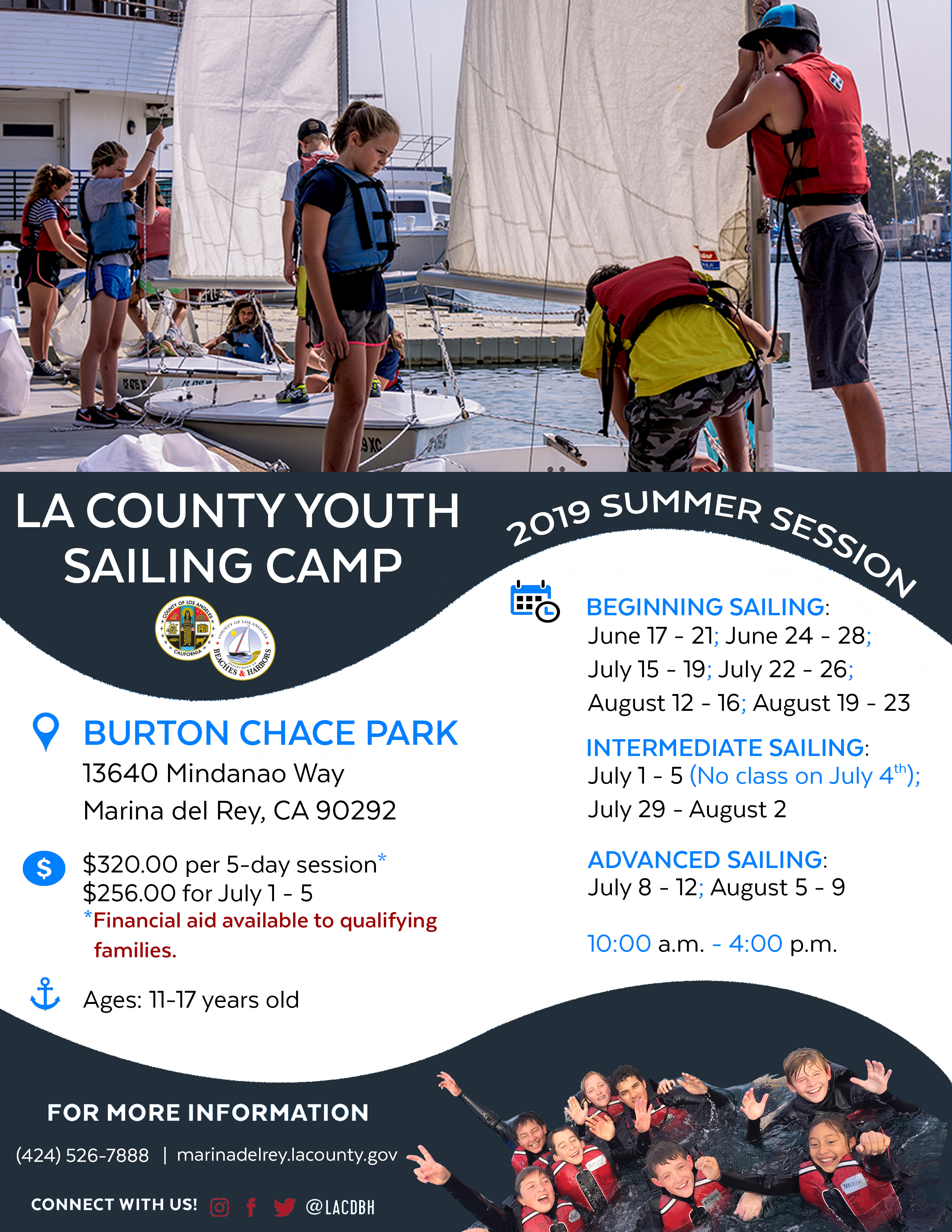 2019 Summer Youth Sailing Camp