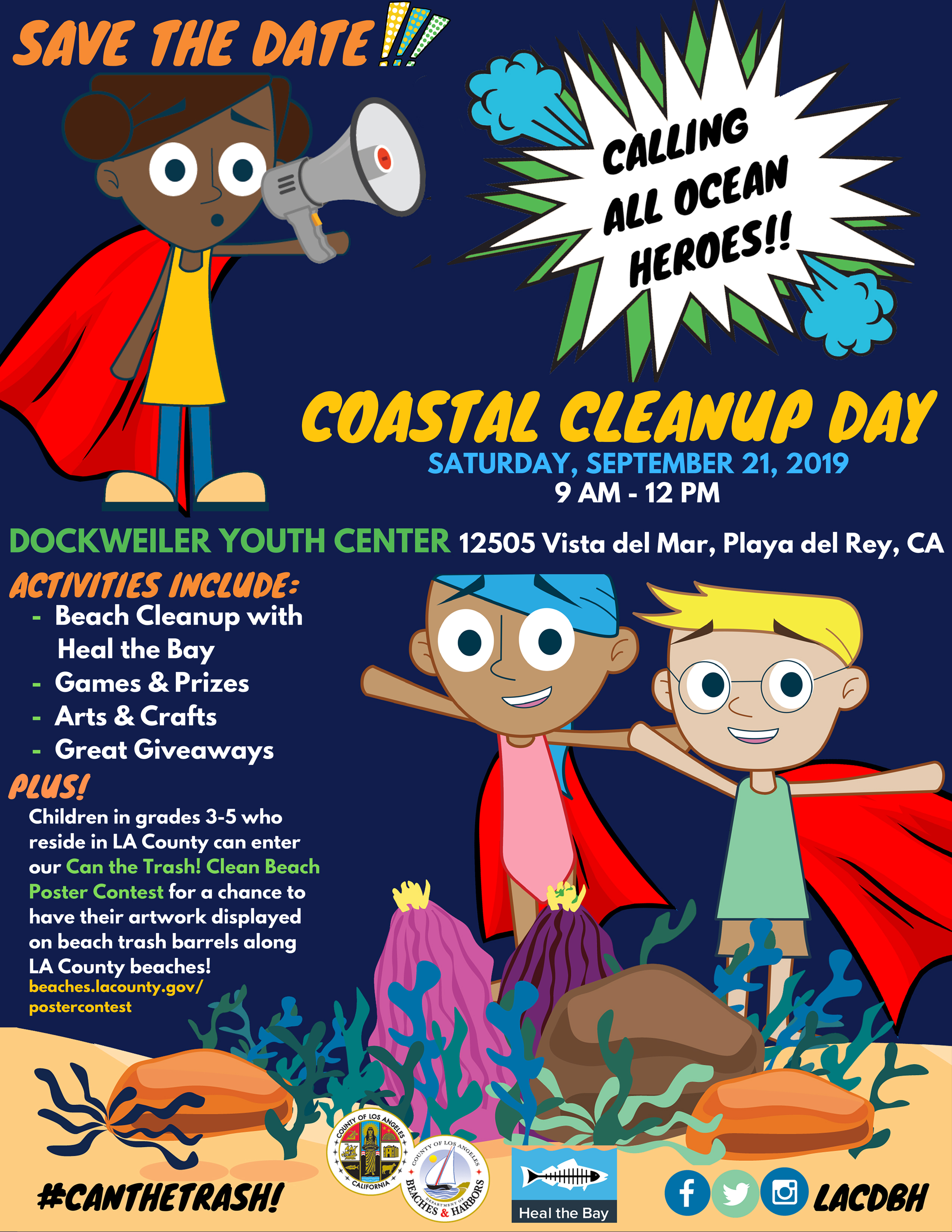 Coastal Cleanup Day flyer