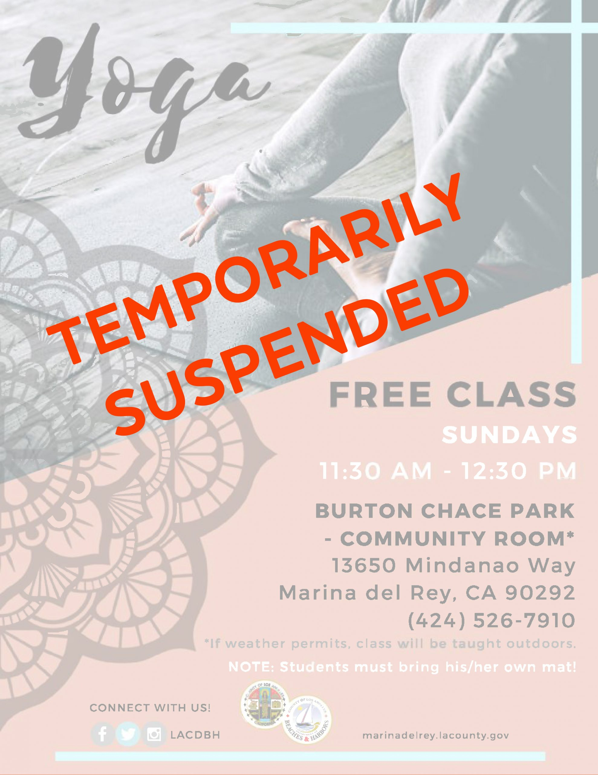 BCP Yoga Flyer TEMPORARILY SUSPENDED