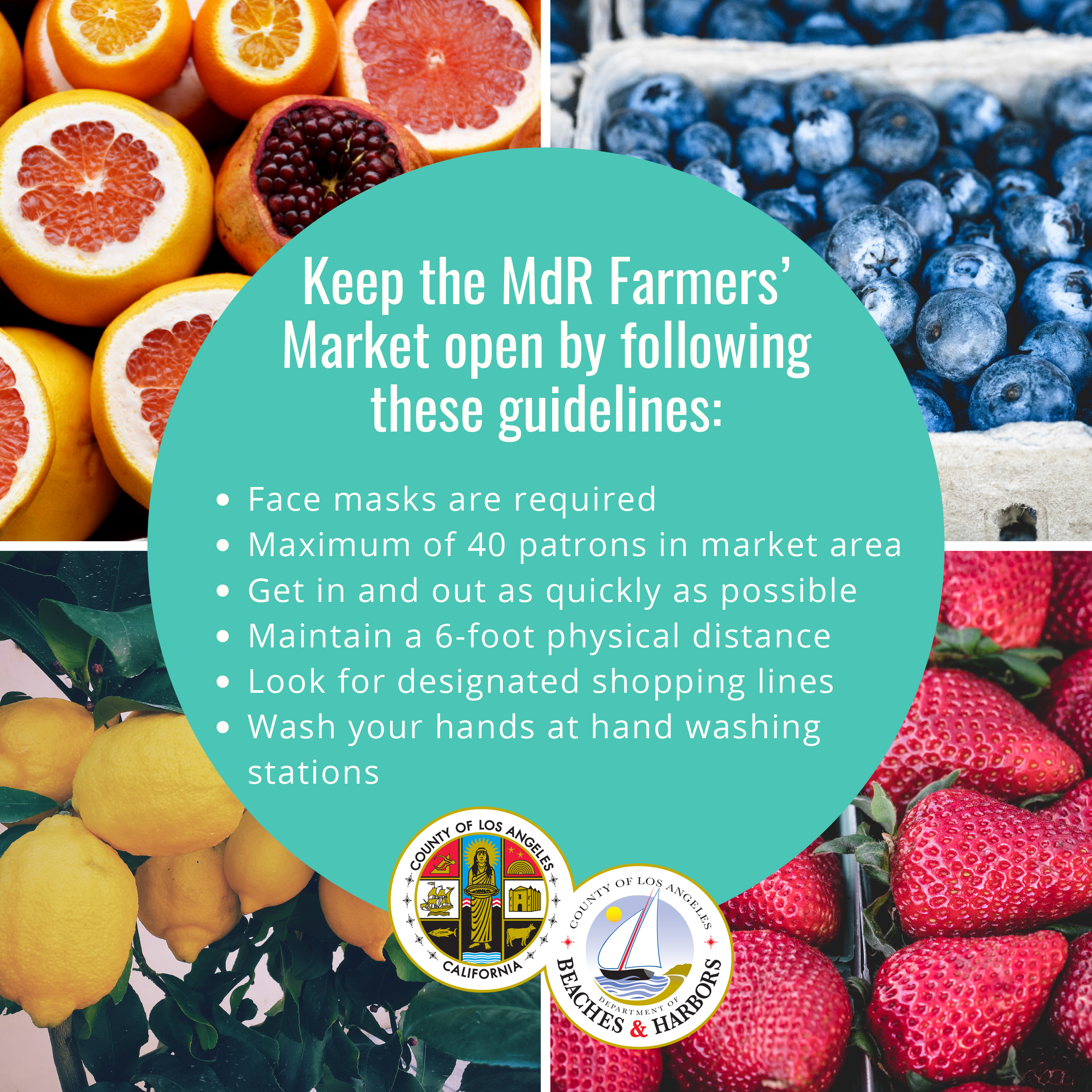 New Farmers' Market Guidelines