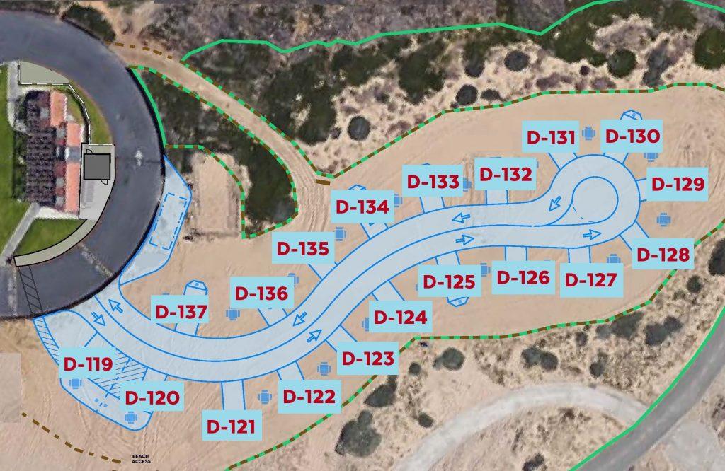 Dry Campsite Map