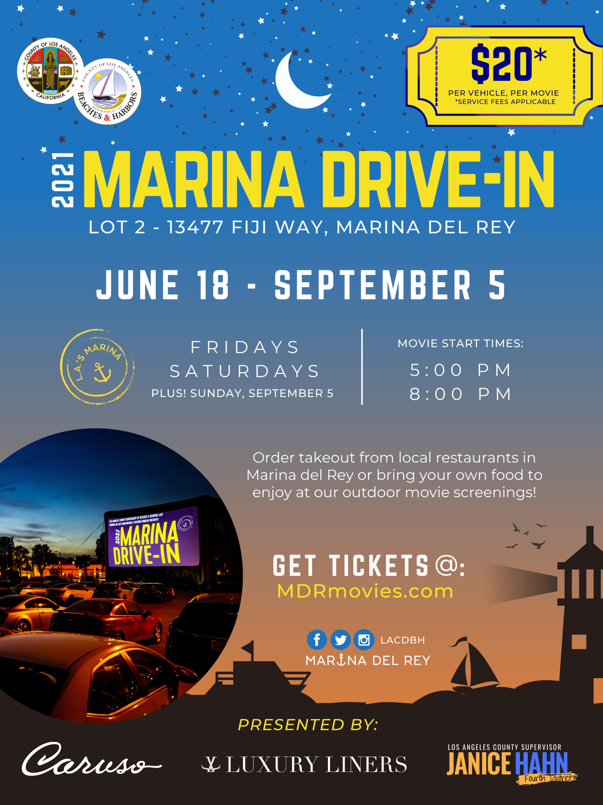 Updated Marina Drive-In Flyer